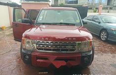 Nigeria Used Land Rover LR3 2006 Model Red