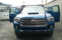 Foreign Used Toyota Tacoma 2016 Model Blue