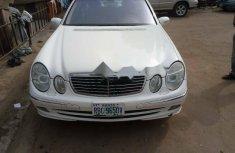 Nigeria Used Mercedes-Benz E320 2004 Model White