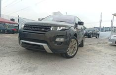 Foreign Used Land Rover Range Rover Evoque 2013 Model Black