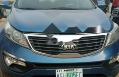 Nigeria Used Kia Sportage 2012 Model Blue