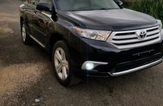 Nigeria Used Toyota Highlander 2012 Model Black for Sale