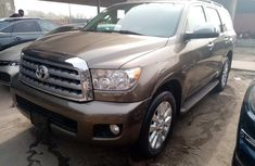 Foreign Used Toyota Sequioa 2010 Model Brown for Sale