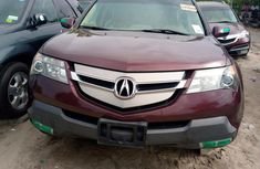 Foreign Used Acura MDX 2008 Model Beige for Sale