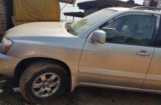 Nigeria Used Toyota Highlander SUV 2006 Model Silver