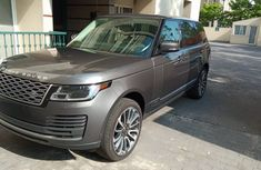Foreign Used Range Rover Vogue 2018 Model Beige