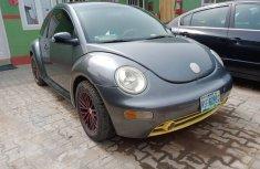 Nigeria Used Volkswagen Beetle 2005 Model Silver