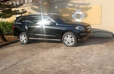 Foreign Used Mercedes-Benz GL450 2013 Model Black for Sale