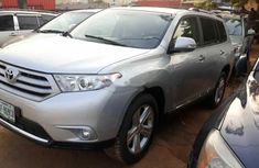 Foreign Used Toyota Highlander 2012 Model Silver