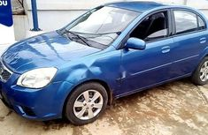 Nigeria Used Kia Rio 2009 Model Blue