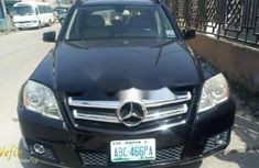 Nigeria Used Mercedes-Benz GLK 2011 Model Black