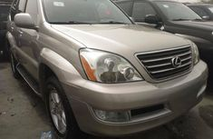 Foreign Used Lexus GX 2004 Model Gold
