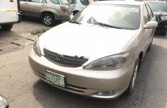 Nigeria Used Toyota Camry 2004 Model Gold