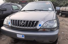 Foreign Used Lexus RX 2002 Model Gray
