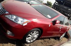 Foreign Used Lexus ES 2011 Model Red