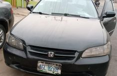 Nigeria Used Honda Accord 1999 Model Green