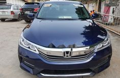 Foreign Used Honda Accord 2017 Model Blue