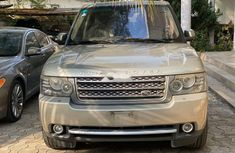 Nigeria Used Land Rover Range Rover Vogue 2011 Model Gray