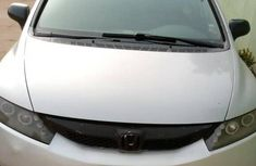 Nigeria Used Honda Civic 2009 Model Silver