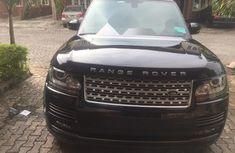 Foreign Used Land Rover Range Rover Vogue 2013 Model Black