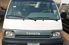 Nigeria Used Toyota HiAce 2002 Model White