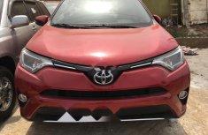 Foreign Used Toyota RAV4 2016 Model Red