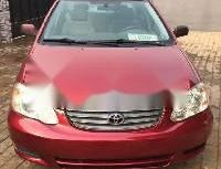 Foreign Used Toyota Corolla 2004 Model Red