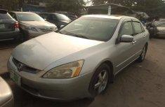 Nigeria Used Honda Accord 2005r Model Silver