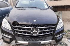 Foreign Used Mercedes-Benz ML350 2012 Model Blue