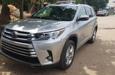 Foreign Used Toyota Highlander 2019 Model Silver