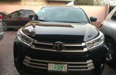 Nigeria Used Toyota Highlander 2018 Model Black