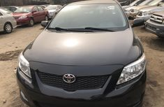 Foreign Used Toyota Corolla 2009 Model Black for Sale