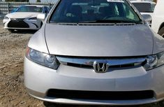 Foreign Used Honda Civic 2006 Model Silver for Sale