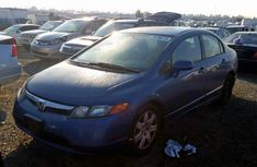 Foreign Used Honda Civic 2006 Model Blue for Sale