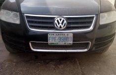 Nigeria Used Volkswagen Touareg 2006 Model Black for Sale