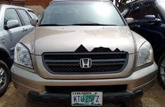 Nigeria Used Honda Pilot 2003 Model Gold