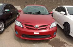 Foreign Used Toyota Corolla 2012 Model Red