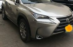 Nigeria Used Lexus NX 2017 Model Gray