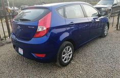 Nigeria Used Hyundai Accent 2014 Model Blue
