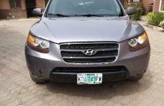 Nigeria Used Hyundai Santa Fe 2007 Model Gray