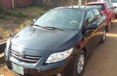 Nigeria Used Toyota Corolla 2010 Model Black