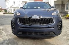 Nigeria Used Kia Sportage 2019 Model Blue