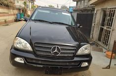 Foreign Used Mercedes-Benz ML 320 2002 Model Black