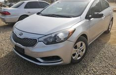 Foreign Used Kia Forte 2016 Model Silver