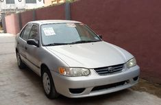 Foreign Used Toyota Corolla 2001 Model Silver