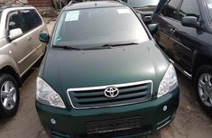 Foreign Used Toyota Avensis 2005 Model Green