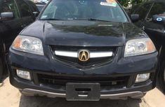 Foreign Used Acura MDX 2005 Model Black for Sale