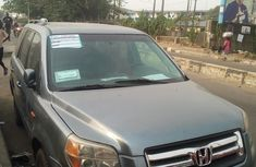 Foreign Used Honda Pilot 2007 Model Green