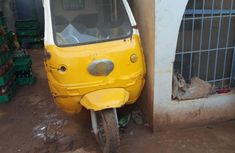 Nigeria Used Bajaj Boxer 2009 Model Yellow