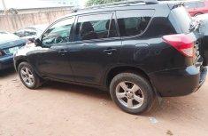 Nigeria Used Toyota RAV4 2008 Model Black
